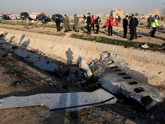 Иран согласился выплатить компенсации за сбитый украинский самолет