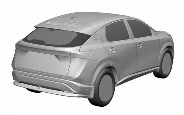 Nissan запатентовал новый кроссовер для России