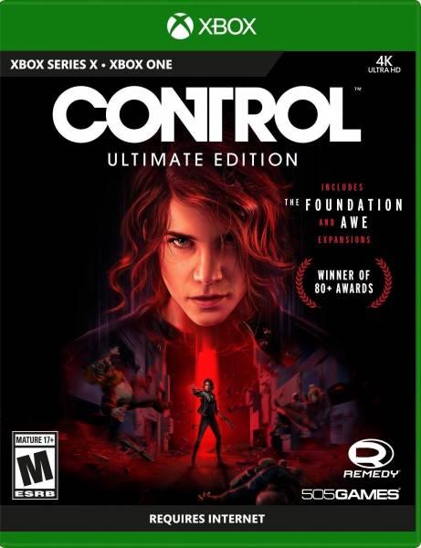 Control: Ultimate Edition для Xbox Series X не поместилась на один диск - часть игры придется загружать