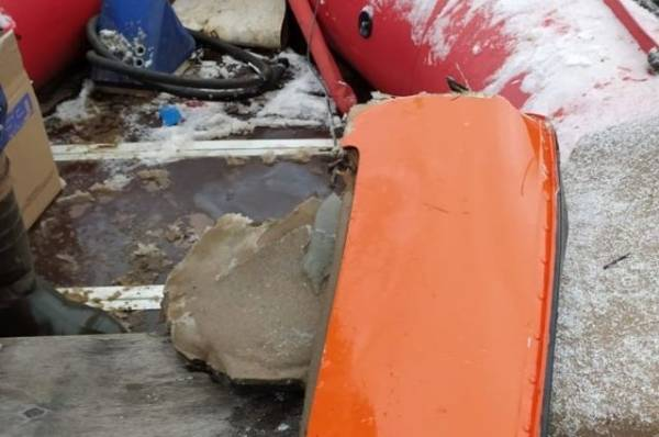 Появилось видео с места крушения вертолета в Вологодской области