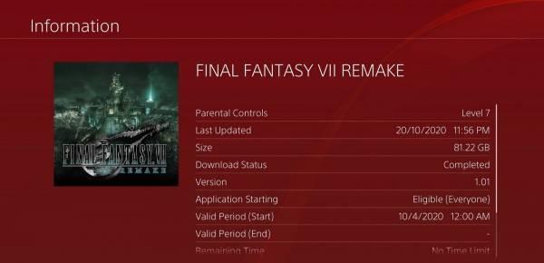 Ремейк Final Fantasy VII получил первый с момента релиза патч, но проблема с текстурами осталась