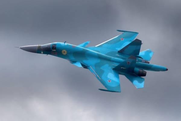 В Хабаровском крае разбился Су-34