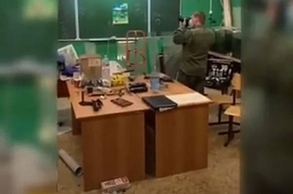 Задержанный в Лобне педагог утроил в классе выставку боеприпасов времен ВОВ