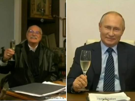 Песков рассказал о шампанском Путина