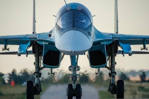 Под Хабаровском обнаружили «черные ящики» разбившегося Су-34
