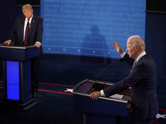 На дебатах Трамп обвинил Байдена в получении денег от России