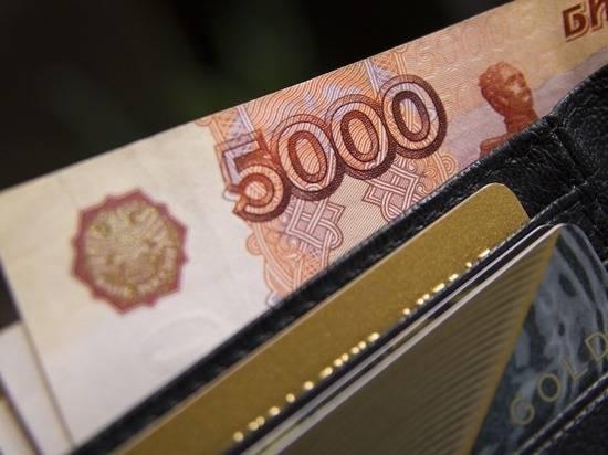 Названа доля россиян с доходом выше 60 тысяч рублей