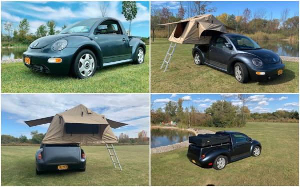 Кемпер-скворечник на базе... VW Beetle