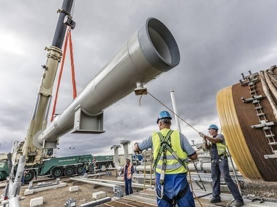 Санкции США напугали партнеров «Северного потока - 2»: запуск вновь перенесли