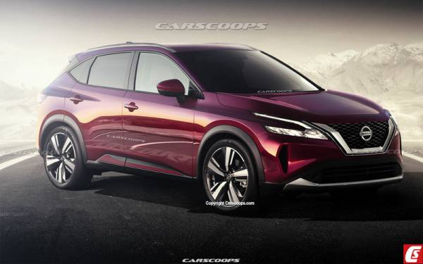 Таким будет новый Nissan Qashqai