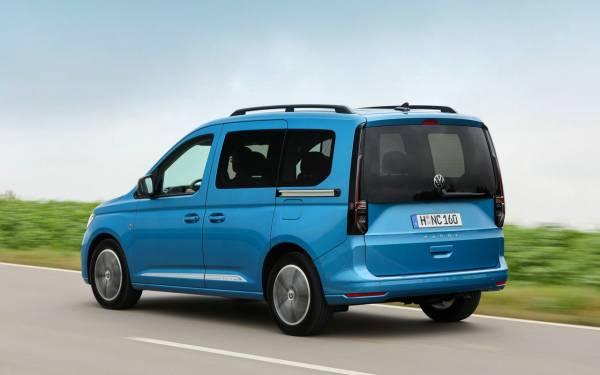 VW озвучил дату начала продаж нового Caddy