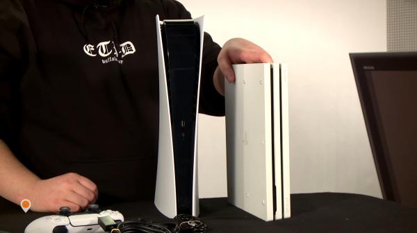 Настоящую PlayStation 5 без дискового привода впервые показали на видео с распаковкой
