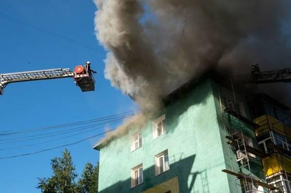 В Калининграде жертвами пожара в доме стали три человека