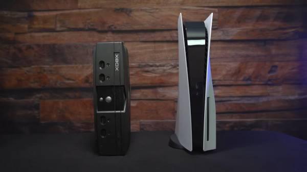 Высокая и толстая: PlayStation 5 сравнили вживую с Xbox Series X и другими консолями