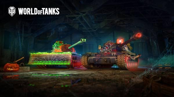 Бойтесь призрачных танков: В World of Tanks началось празднование Хэллоуина