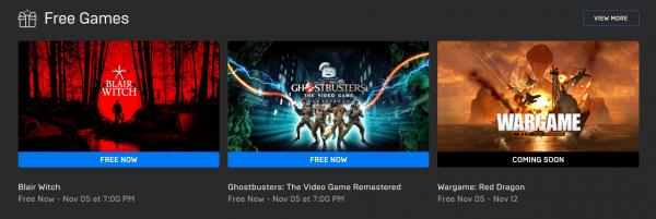 Подарок к Хэллоуину всем игрокам на PC: Blair Witch и Ghostbusters бесплатно отдают в Epic Games Store