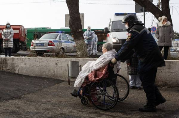 На Урале ковидные стационары проверят на соблюдение техники безопасности