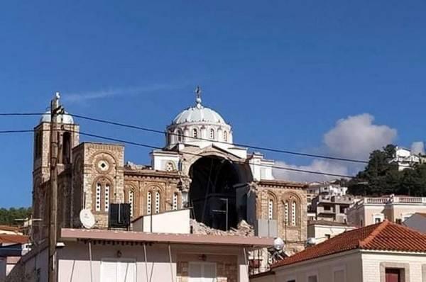 В Греции зафиксированы подземные толчки магнитудой 4,1