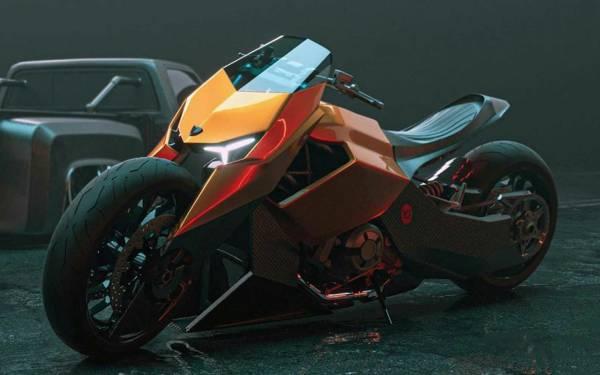 Мотоцикл Lamborghini, которого никогда не было