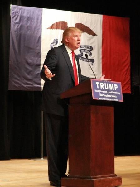 Трамп заявил, что выигрывает на выборах в Пенсильвании