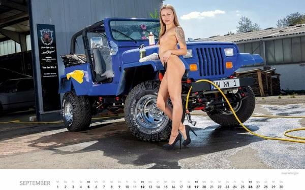 Девушки на автомойке - пожалуй, лучший календарь 2021 года