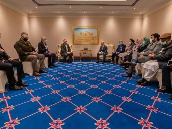 Помпео остался доволен переговорами между Кабулом и талибами