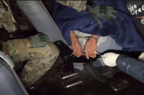 Опубликовано видео спецоперации по задержанию террористов