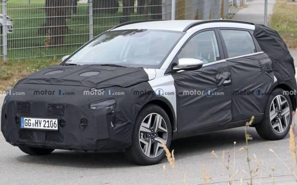 Новый кроссовер Hyundai на тестах: подробности