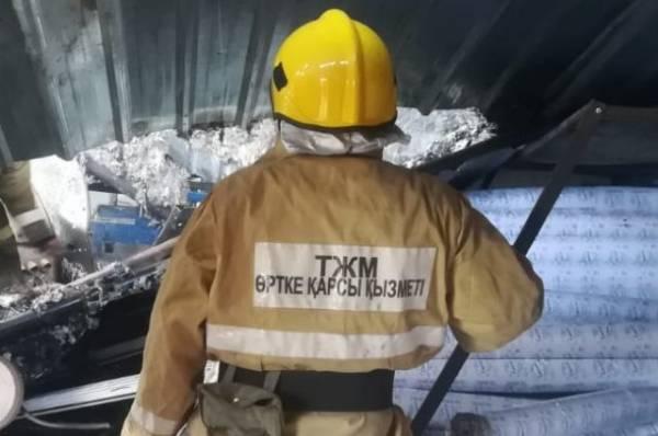 В Казахстанепри взрыве газового баллона пострадали восемь человек