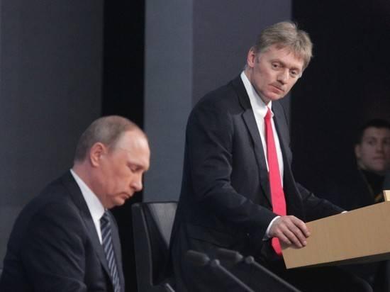 """Песков назвал притянутой за уши туфтой статью о """"знакомой Путина"""""""