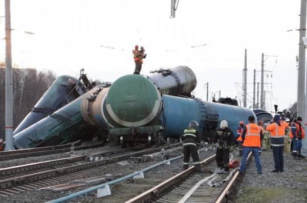 Под Краснодаром при столкновении поезда и машины погибли четыре человека
