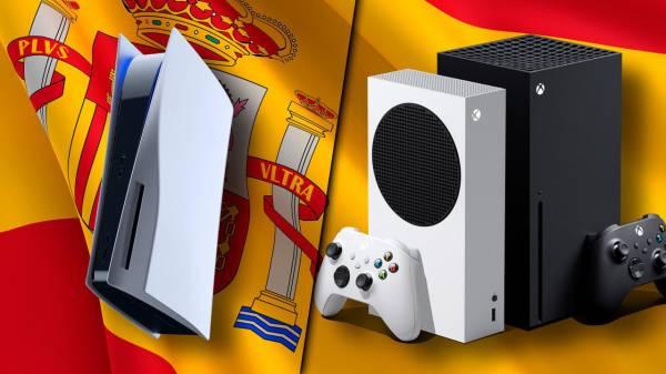 PlayStation 5 стартовала в Испании в три раза лучше Xbox Series X и Xbox Series S