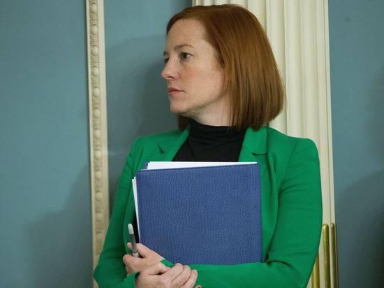 В Кремле оценили план Байдена назначить пресс-секретарём Джен Псаки