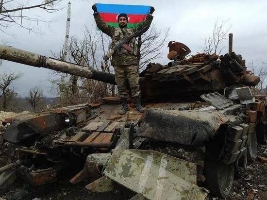 Лачинский район Карабаха перешел под контроль Азербайджана