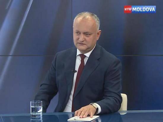 Додон посоветовал Санду не делать едких заявлений по России