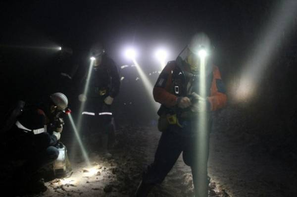 В Якутии при обрушении породы в руднике погиб рабочий