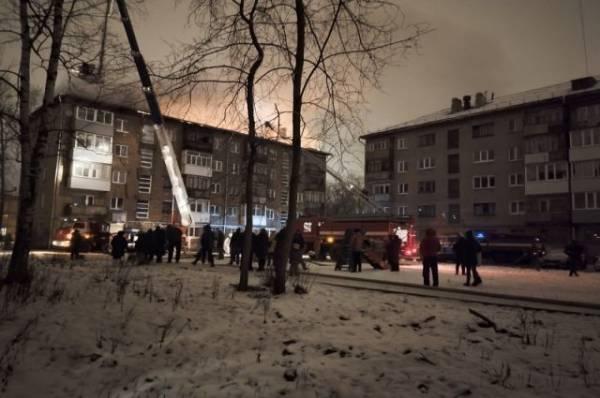 В Перми ликвидирован пожар в многоквартирном жилом доме
