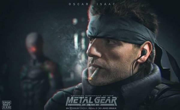 Deadline: Оскар Айзек получил главную роль в фильме Metal Gear Solid