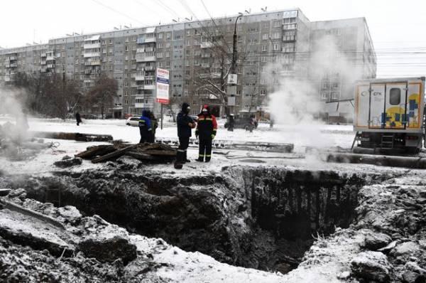Часть жителей Елабуги осталась без тепла из-за аварии на теплотрассе
