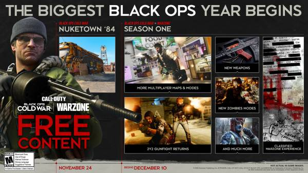 """Испугались """"Киберпанка""""? Activision отложила запуск первого сезона Call of Duty: Black Ops Cold War"""