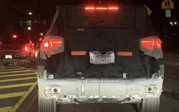Jeep Grand Cherokee — первые фото нового поколения