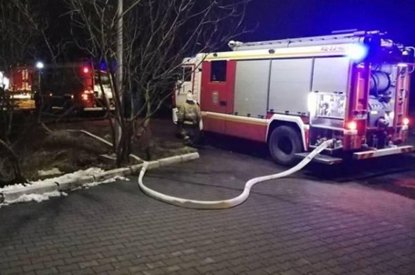 В Краснодаре произошел пожар в гостинице