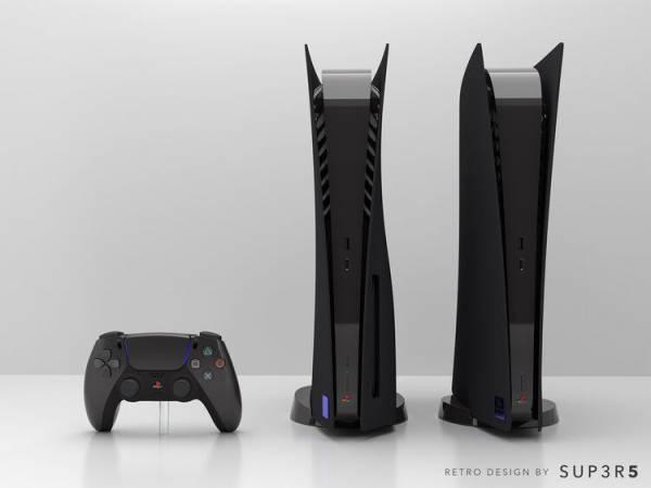 Вдохновлена PlayStation 2: В продажу поступит PlayStation 5 в уникальном дизайне