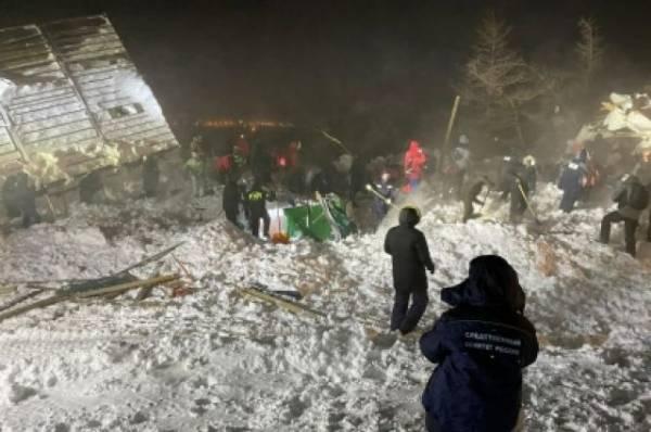 СК начал проверку после схода лавины на горнолыжной базе под Красноярском