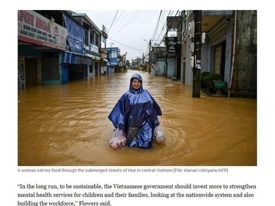 Во Вьетнаме начался кризис из-за тайфунов и наводнений 2020 года