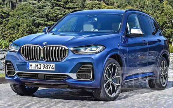 Обновленный BMW X3: вот каким он будет