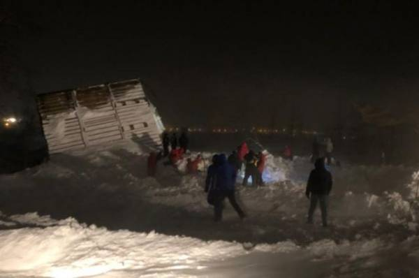 Дежурного ЕДДС отправили под домашний арест после схода лавины в Норильске