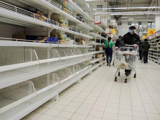 В российских магазинах начался дефицит
