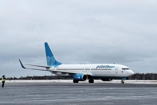 Летевший в Москву самолёт совершил вынужденную посадку в Минводах