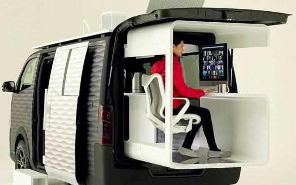 Мечта менеджера на удаленке - Nissan Office Pod